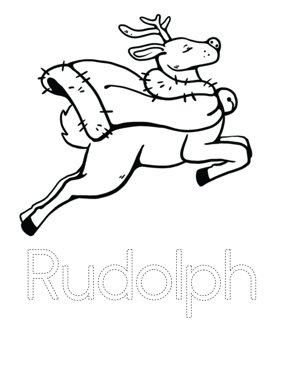 Christmas Characters-Rudolph