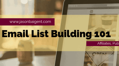 Email List Building 101