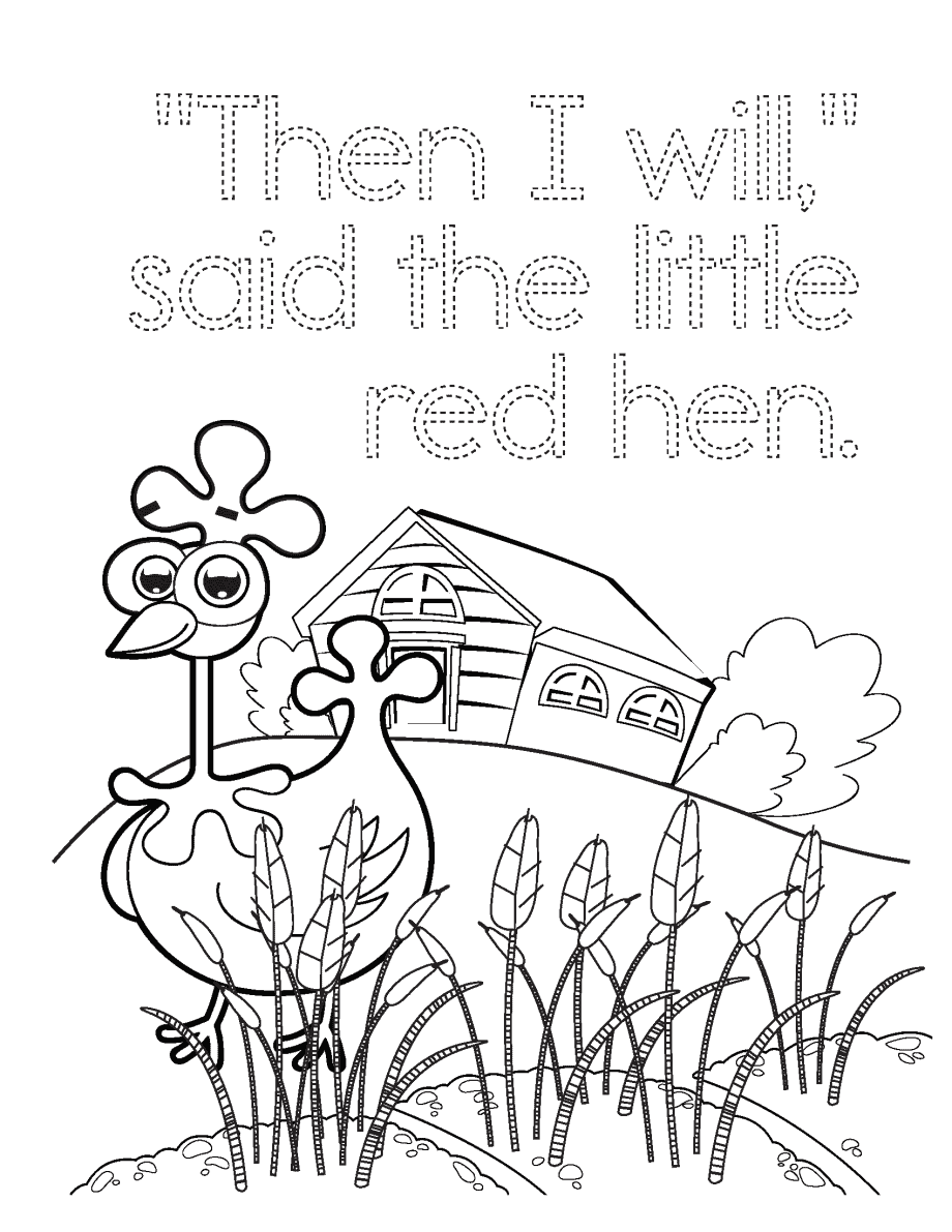 Little Red Hen Page