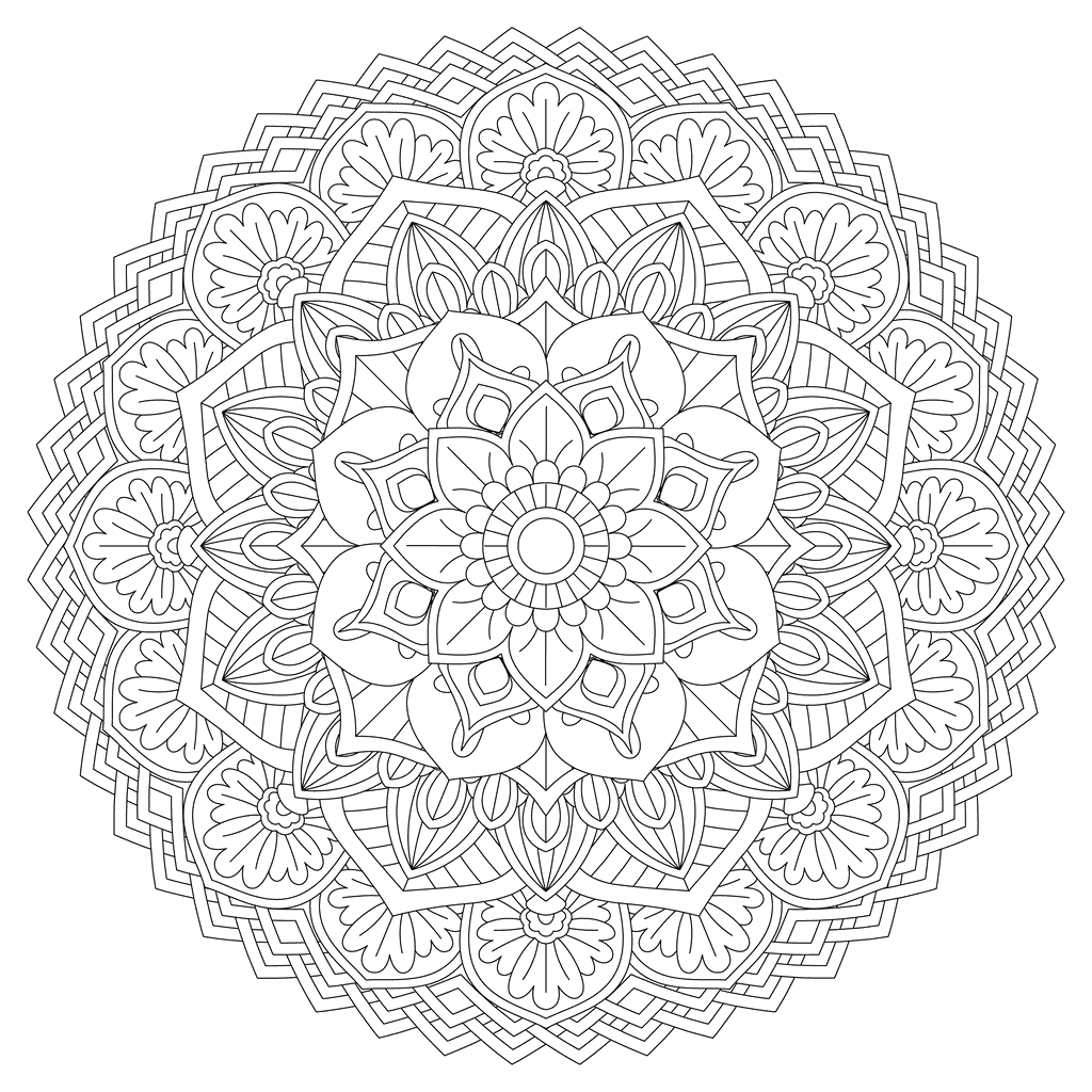 Zen Mandala 10