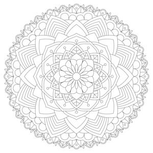 Zen Mandala 8