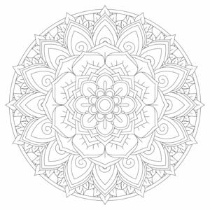 Zen Mandala 7
